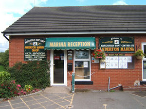 Canal boat hire from Anderton Marina in Anderton in Cheshire