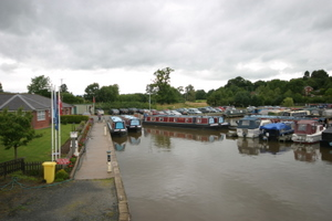 Canal boat hire from Blackwater Meadow in Ellesmere in Shropshire