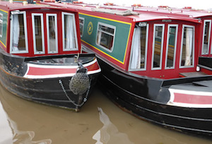 Canal boat hire from Burnley Marina in Burnley in Lancashire