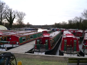 Canal boat hire from Gayton Marina in Blisworth Arm in Northamptonshire