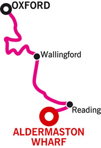 Aldermaston to Oxford and Return