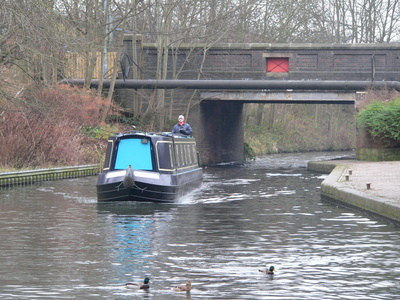 Cruising the canal system