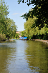 Cruising the Worcester and Birmingham canal