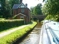 Cruising the Llangollen canal from our Blackwater base